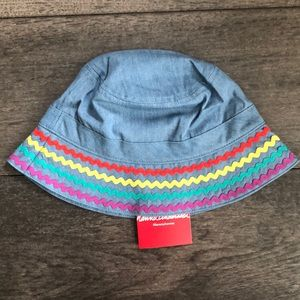 Hanna Andersson girl's Chambray Bucket Hat
